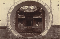 Doorway of a Chinese Temple in Bhamo